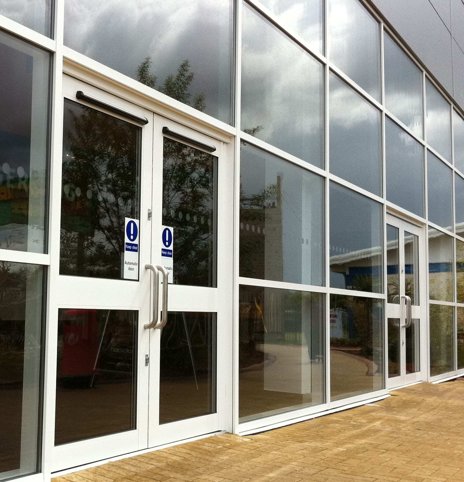 Commercial Entrance Systems61 Curtain Walling