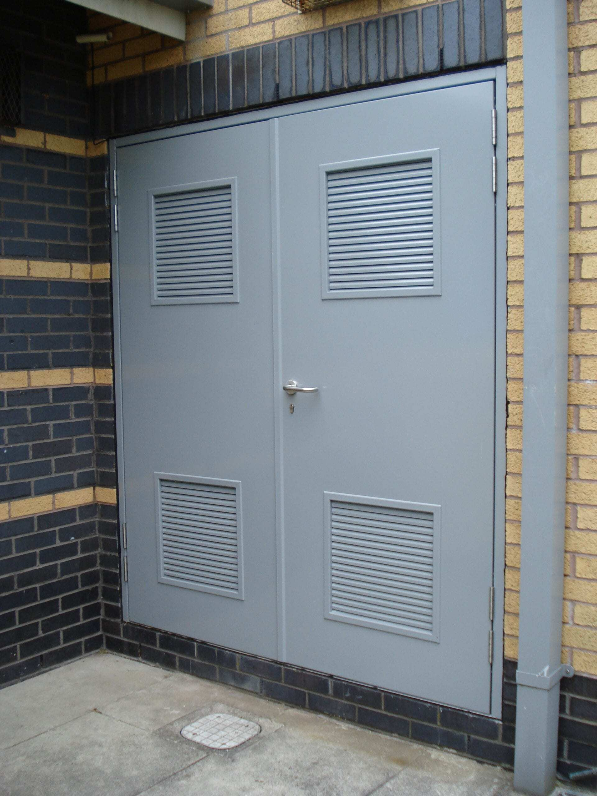 Steel Security Personnel Door