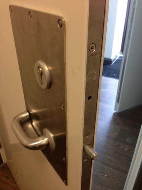 Defender High Security Steel Door