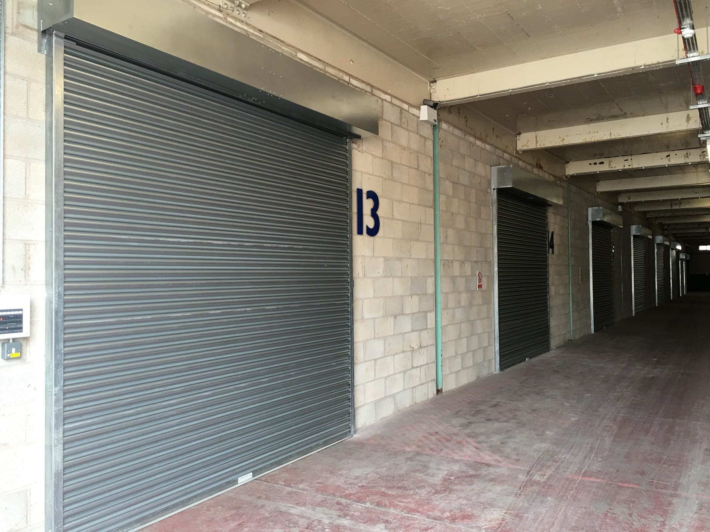 Roller Shutters for Self Storage
