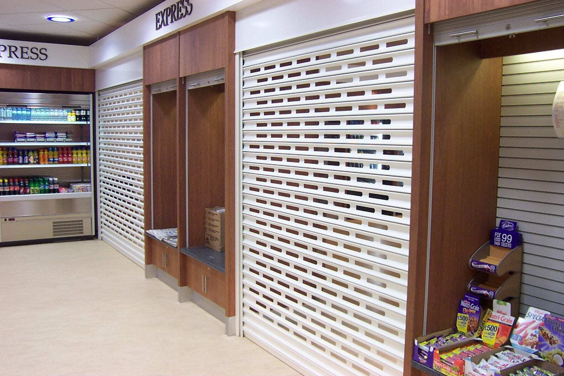 Punched Roller Shutter