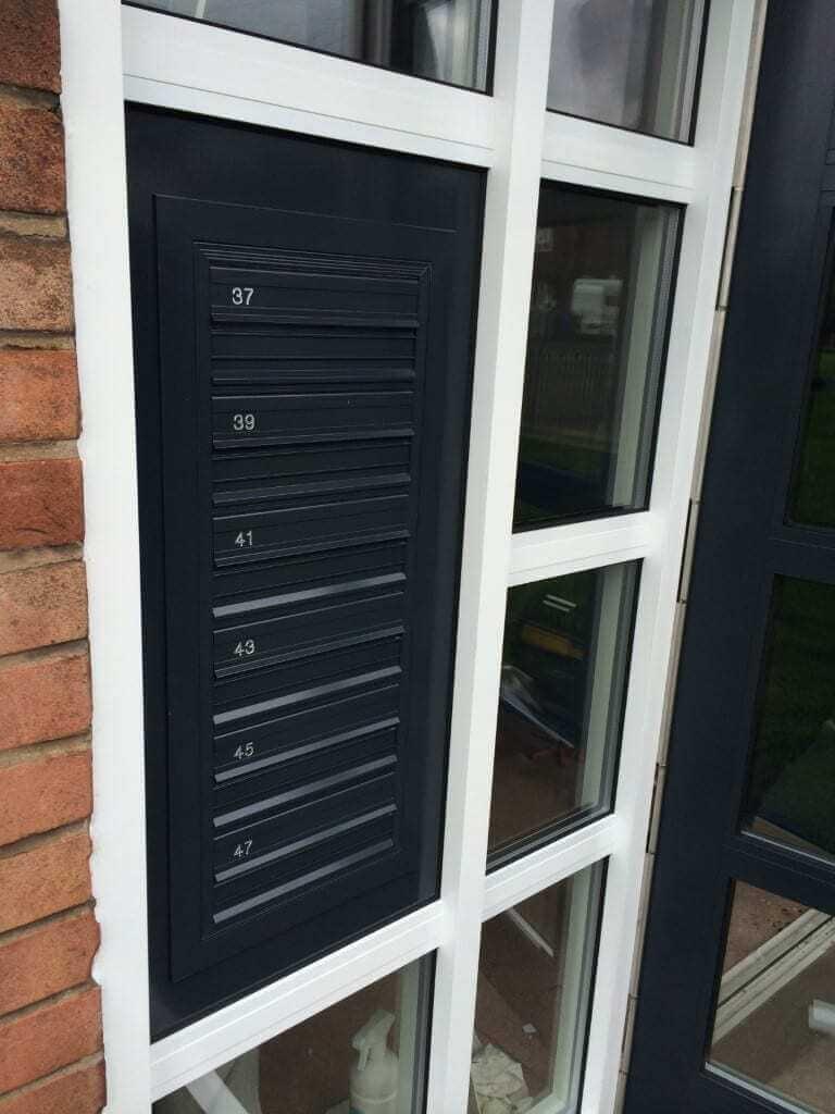 Communal Door Hardware