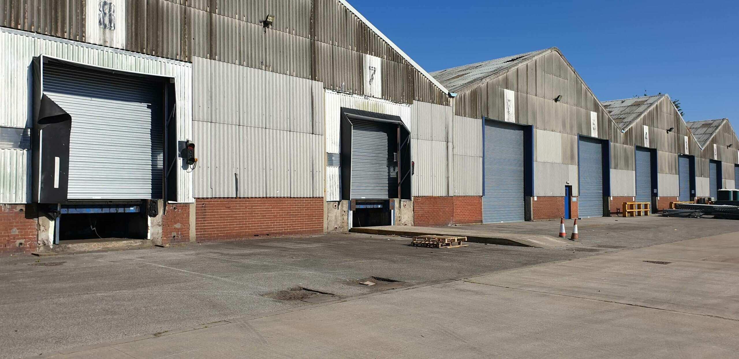 Industrial Roller Shutter Installation Doncaster 1 scaled Industrial Roller Shutter Installation - Doncaster