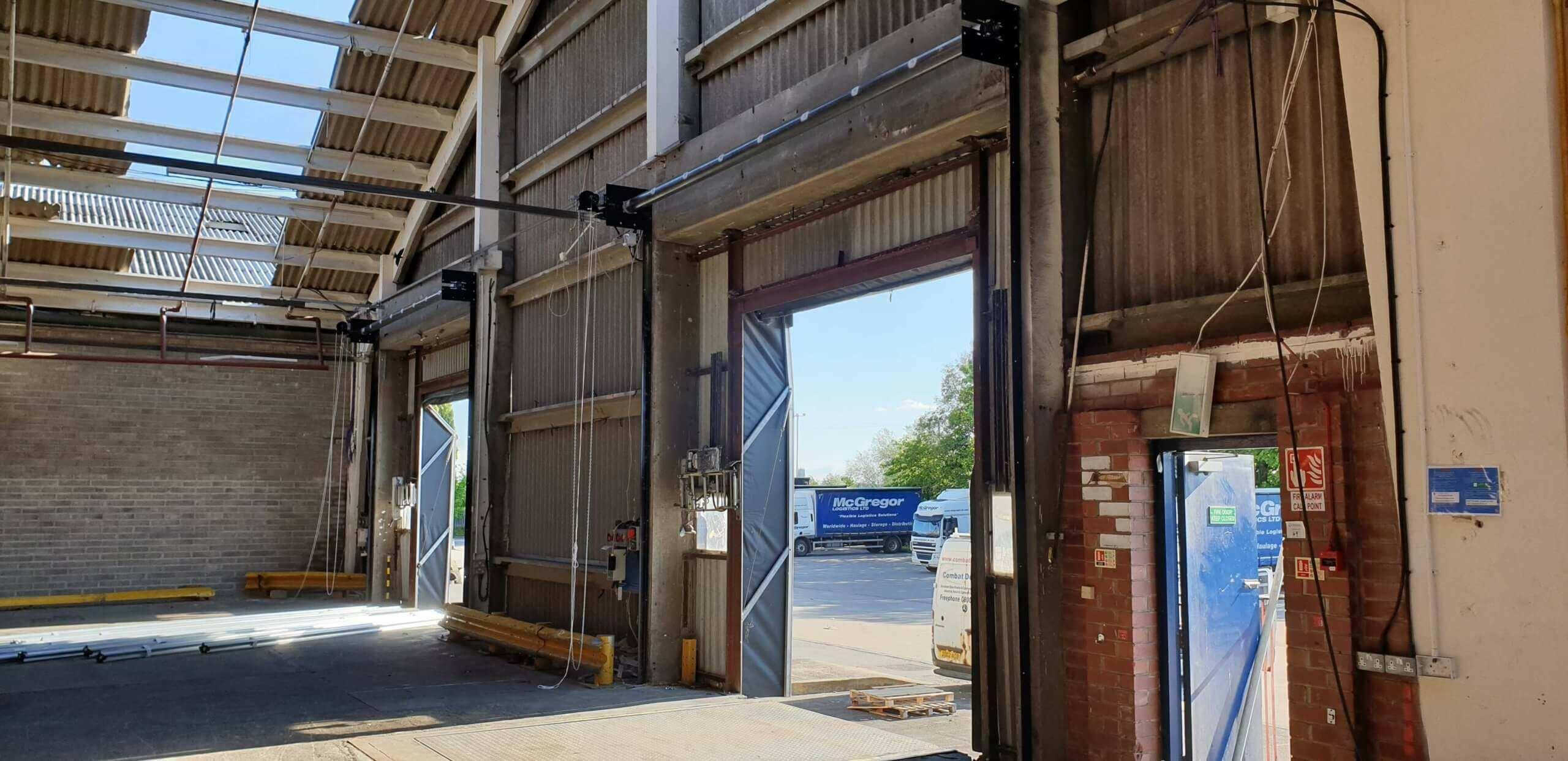 Industrial Roller Shutter Installation Doncaster 10 scaled Industrial Roller Shutter Installation - Doncaster