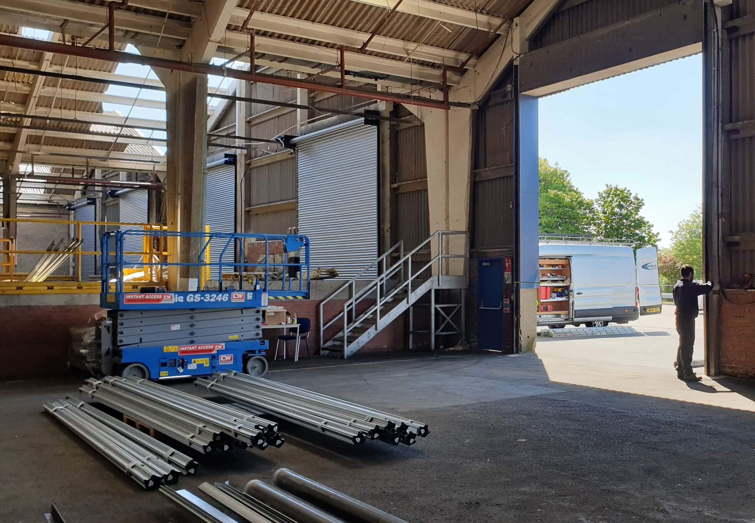 Industrial Roller Shutter Installation Doncaster 11 scaled Industrial Roller Shutter Installation - Doncaster