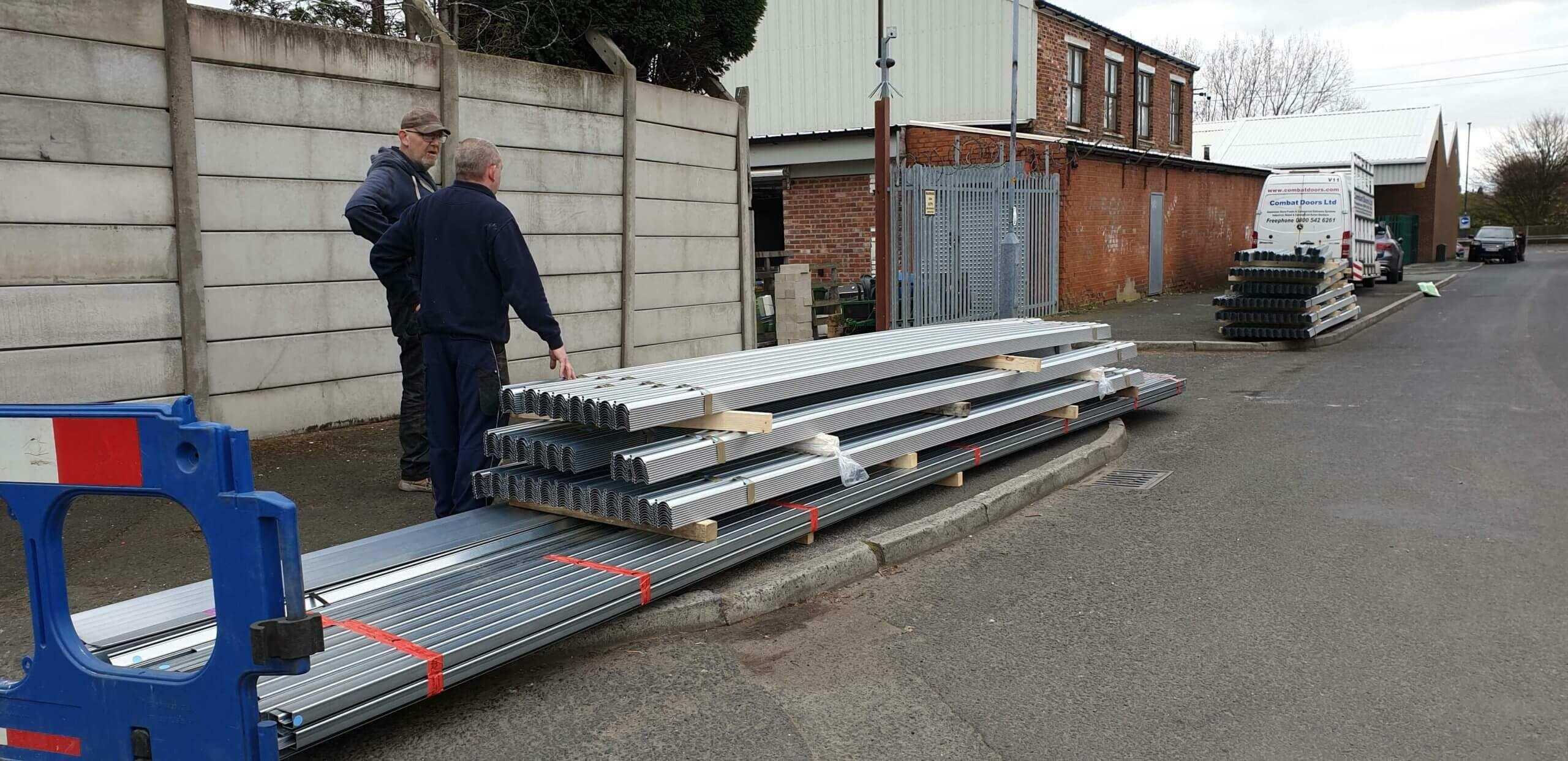 Industrial Roller Shutter Installation Doncaster 5 scaled Industrial Roller Shutter Installation - Doncaster