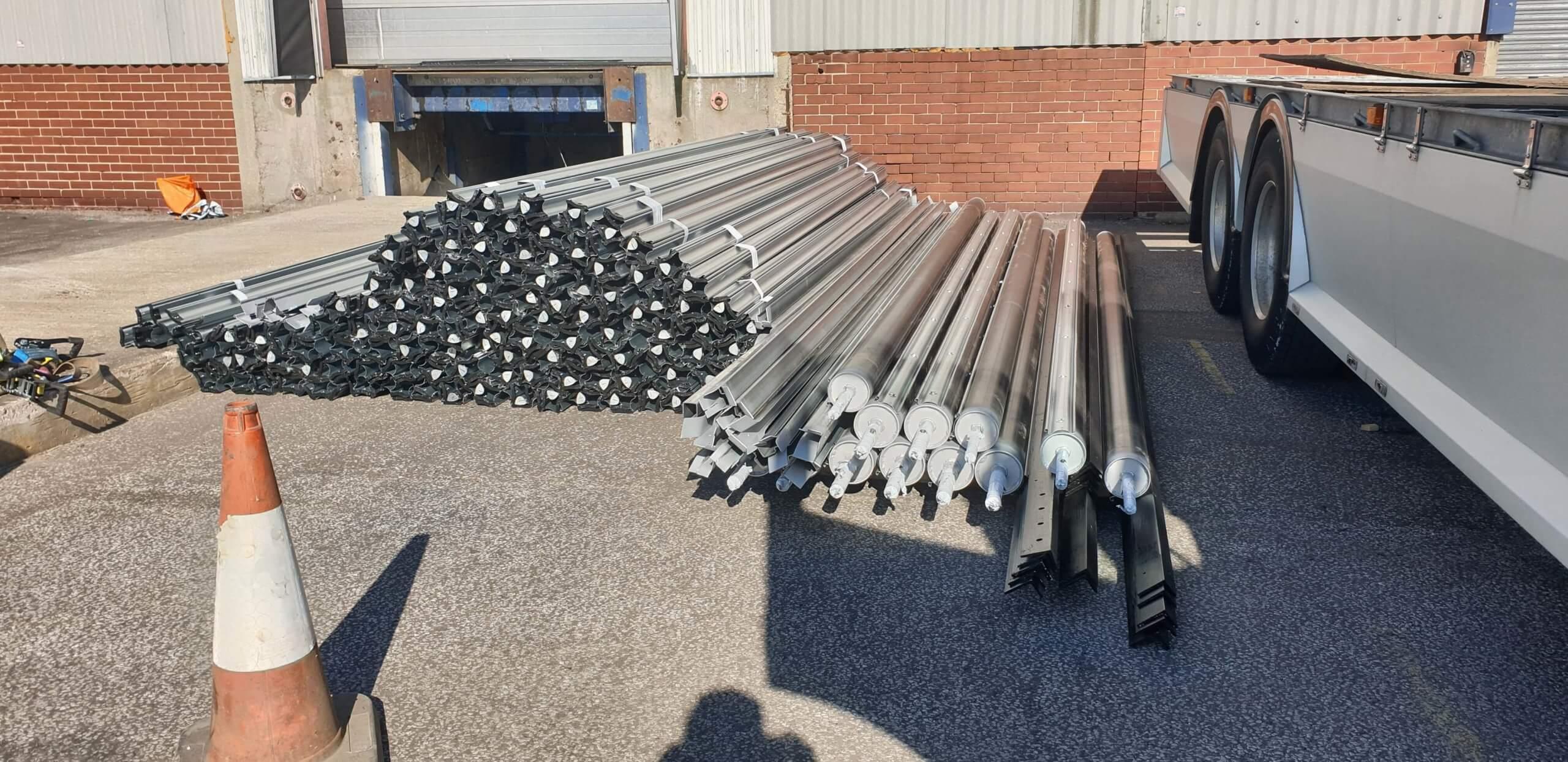 Industrial Roller Shutter Installation Doncaster 7 scaled Industrial Roller Shutter Installation - Doncaster