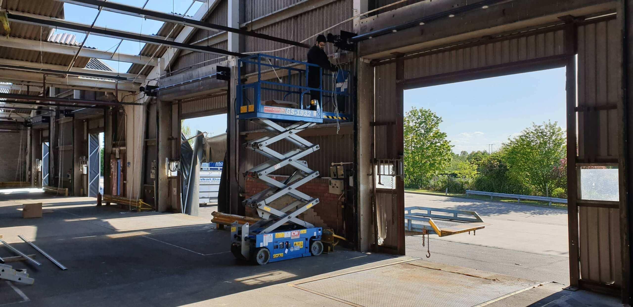 Industrial Roller Shutter Installation Doncaster 8 scaled Industrial Roller Shutter Installation - Doncaster